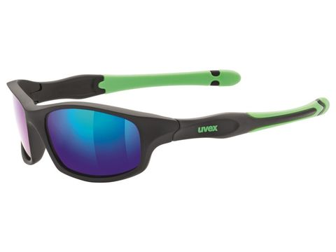 Brýle Uvex Sportstyle 507 black mat green