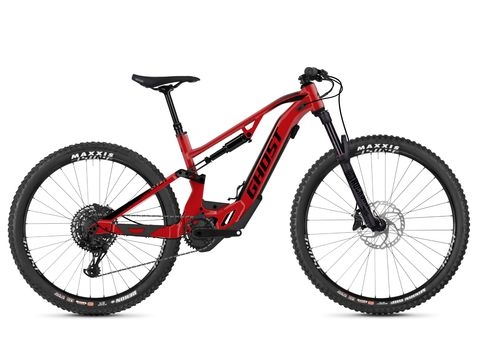 Ghost Hybride ASX 2.7+ Riot Red / Black 2020