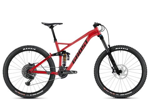 Ghost Framr 8.7 AL  - Riot Red / Jet Black 2020
