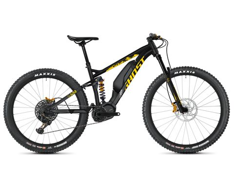 Ghost HYB Slamr S3.7+ AL-Black /Yellow/Silver 2020