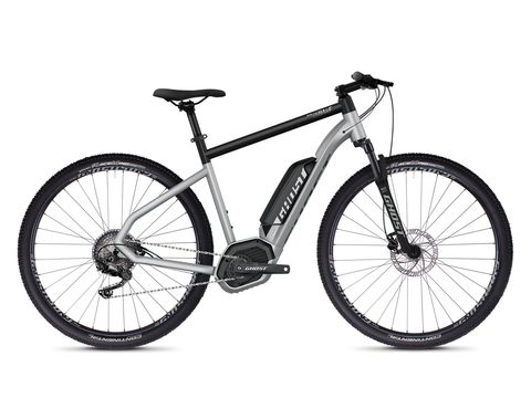 Ghost HYB Square Cross B2.9 AL - Iridium Silver / Jet Black 2020