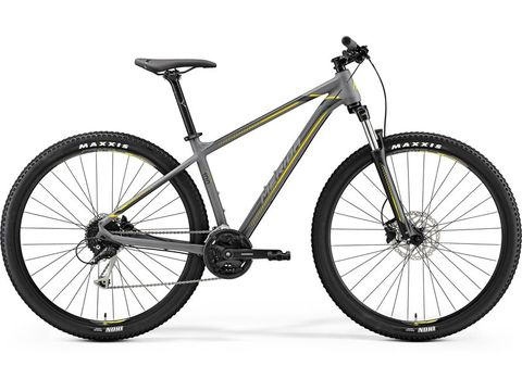 MERIDA BIG.NINE 100 Matt Grey(Yellow/Dark Grey) 2019