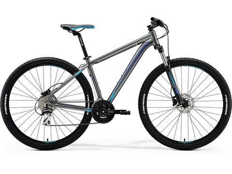 MERIDA BIG.NINE 20-D Silk Anthracite(Sky Blue/Blue) 2018