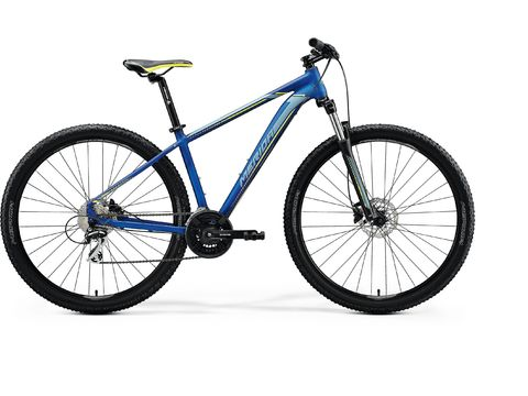 Merida BIG.NINE 20-D Silk Medium Blue(Silver/Yellow) 2020