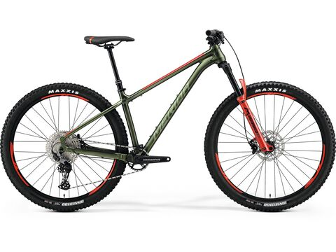 Merida BIG.TRAIL 600 Matt Green(Red/Silver-Green) 2021
