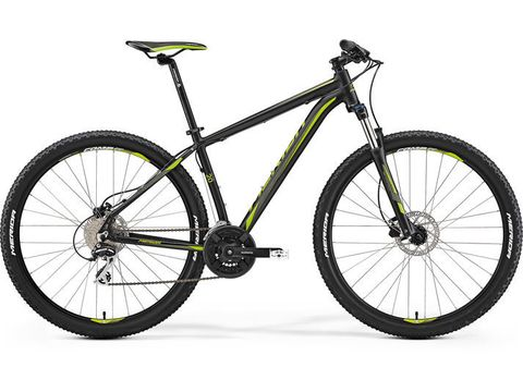 Merida BIG.NINE 20-D Matt Black(Green) 2017