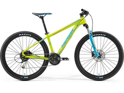 Merida BIG.SEVEN 100 Matt Lime(Blue) 2017