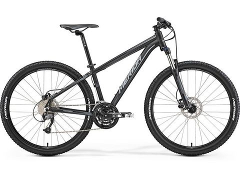 Merida BIG.SEVEN 40-D Matt Black(Grey) 2017