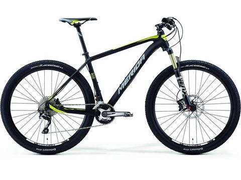 Merida BIG.SEVEN 800 Matt Black(Yellow/Grey) 2015