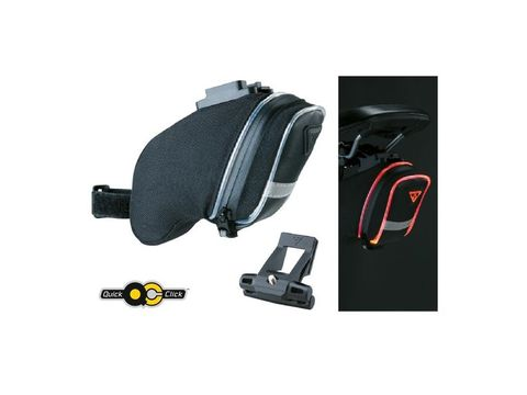 Brašna Topeak AERO WEDGE PACK iGlow Small s QuickClick