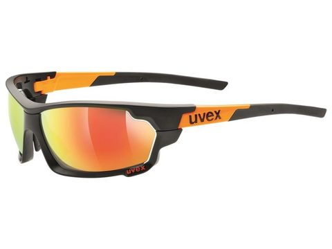 Brýle Uvex Sportstyle 702 black mat-orange