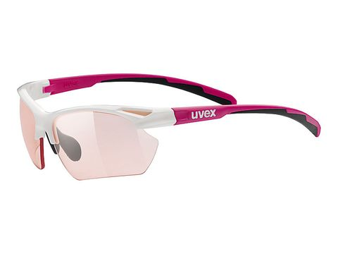 Brýle Uvex Sportstyle 802 Small Vario white/pink