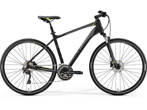 MERIDA CROSSWAY 300 Matt Black (Green) 2019