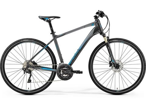 MERIDA CROSSWAY XT-EDITION Dark Silver (Blue) 2019