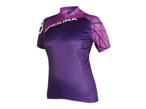 Dámský dres Endura Singletrack purple