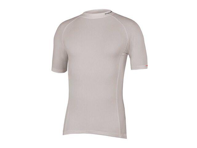 Pánské triko Endura Transrib s krátkým rukávem white  95742c44e1