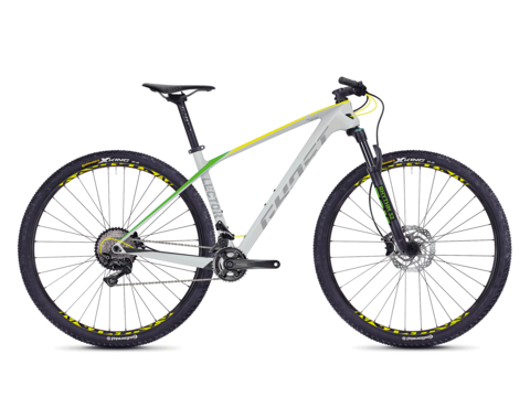 GHOST Lector 3.9 LC grey / yellow green 2018