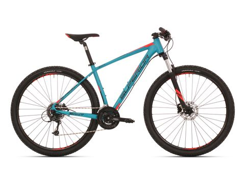 Superior XC 859 matte petrol blue/black/neon red 2018
