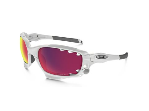 Brýle Oakley Racing Jacket Matte Ehite Prizm Road