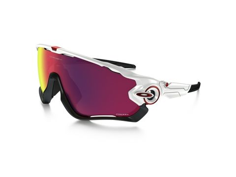 Brýle Oakley Jawbreaker Polished White / Prizm Road