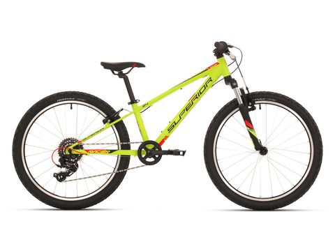 Superior RACER XC 24 matte radioactive yellow/black/red 2018