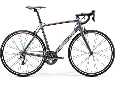 Merida SCULTURA 300 Silk Anthracite(Race Red) 2020