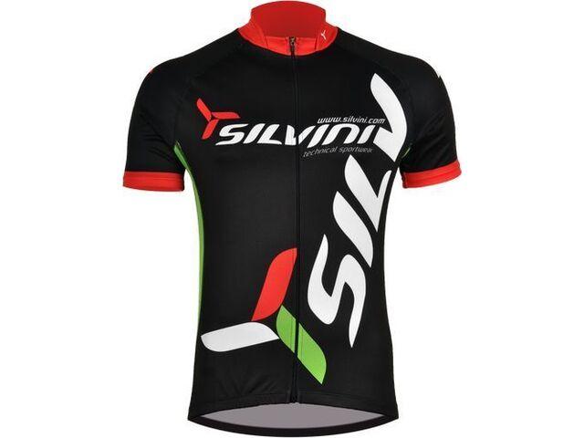 1007ea73195b5 Pánský cyklistický dres Silvini TEAM MD257 black | KOLA-ONLINE.cz
