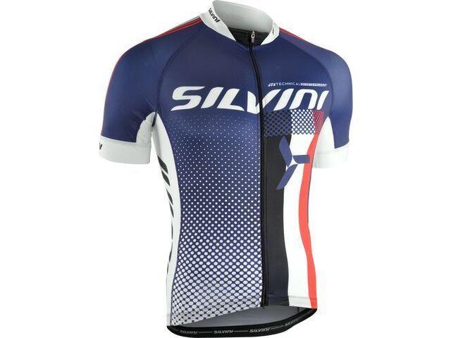 de499a8d7 Pánský cyklistický dres Silvini TEAM MD836 navy | KOLA-ONLINE.cz