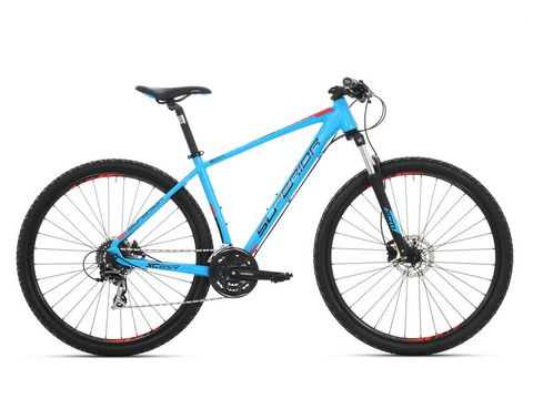 Superior XC 859 matte cyan blue/black/team red 2017