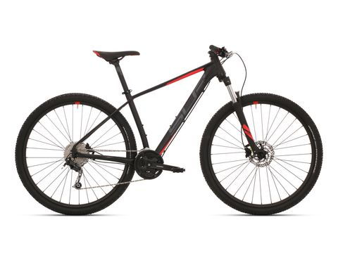 Superior XC 869 Matte black/dark grey/red 2019