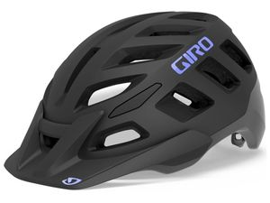 Přilba GIRO Radix W Mat Black/Electric Purple