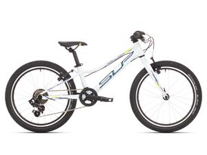 Superior Racer XC 20 Gloss White/Blue/Neon Yellow 2021