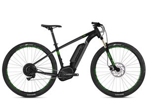 Ghost Hybride Teru B4.9 AL U jet black / urban gray / riot green 2019