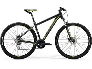 MERIDA BIG.NINE 20-D Matt Black(Green) 2018