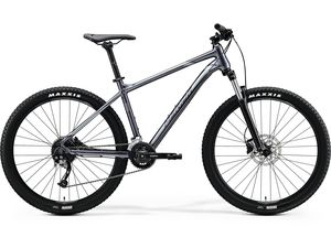 MERIDA BIG.NINE 200 Glossy Anthracite (Black/Silver) 2020
