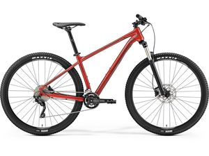 MERIDA BIG.NINE 300 Metallic Red(Dark Red/Black) 2019