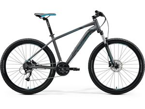 Merida BIG.NINE 40 Matt Dark Silver(Blue/Blk) 2020