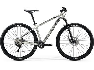 Merida BIG.NINE 500 Silk Titan(Silver/Black) 2020