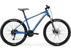 Merida BIG.SEVEN 100 Glossy Blue(Red) 2020