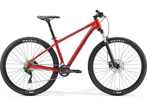 MERIDA BIG.SEVEN 300 Metallic Red(Dark Red/Black) 2019