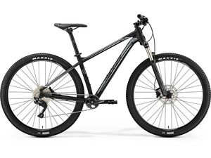 MERIDA BIG.SEVEN 400 Matt Black(Silver/White) 2019