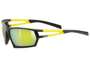 Brýle Uvex Sportstyle 704 black mat-yellow