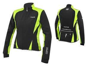 Bunda Force X71 Lady softshell černo-fluo