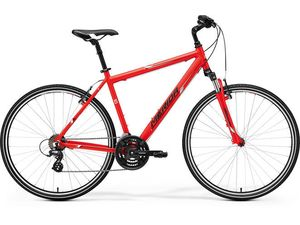Merida CROSSWAY 10-V Matt Red(White/Black) 2017