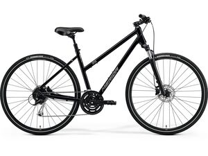 Merida CROSSWAY 100-LADY Glossy Black(Matt Silver) 2021