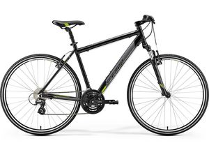 MERIDA CROSSWAY 15-V Metallic Black(Green) 2019