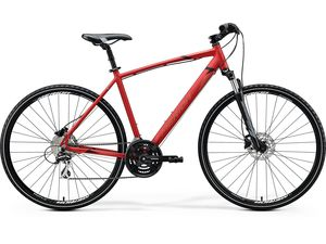 Merida CROSSWAY 20-D Matt X'Mas Red(Black/Dark Red) 2020