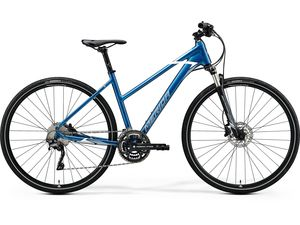 Merida CROSSWAY 500-LADY Blue(Silver-Blue/White) 2020