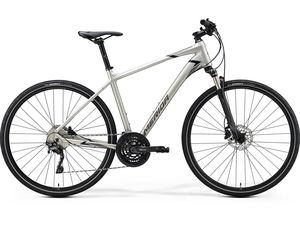 Merida CROSSWAY 600 Matt Titan(Glossy Black/Grey) 2020
