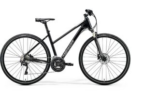 Merida CROSSWAY XT-ED-LADY Black(Matt Silver/Black) 2020